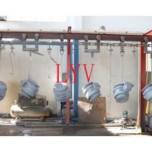 API служил фланцем из нержавеющей стали для сварки высокого давления шаровой Клапан