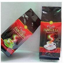 Laminierte Aluminiumfolie vakuumversiegelte Kaffeebeutel Hersteller