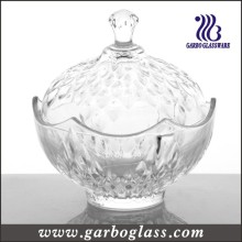 Glass Candy Jar, Lagerung Candy Pot (GB1826YM)