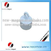 Crochet de tissu magnétique