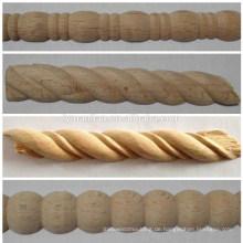 Traubenformteile von Hand schnitzen