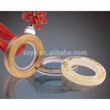 Oeillet rond à prix d'usine, oeillet à anneau en rideau en plastique, grommet