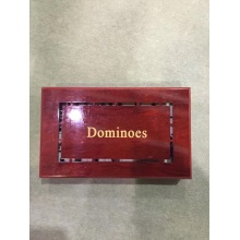 Customized Melamine Dominoes Game Set In Luxury Box