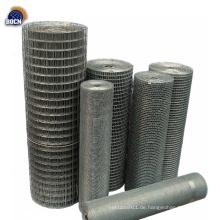 25x25mm PVC-geschweißte Maschendrahtrolle