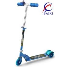Scooters para crianças 3 rodas com luz LED (BX-3208)