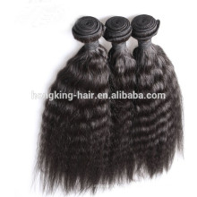 Top quality Afro Kinky hair in human hair weaves