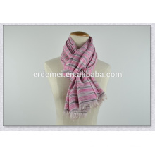 wide polyester yarn dyed scarf 2014