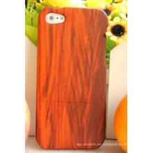 Cubierta de madera móvil duradera duradera de madera roja Padauk