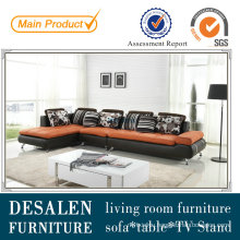 Low Price Italian Genuine Leather Living Room Sofa (M0408)