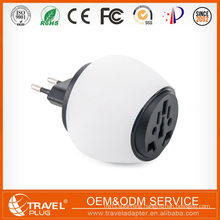 Creative Design 5v 3a Usb world travel adapter