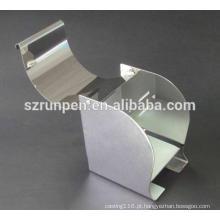 Caixa de papel higiénico de perfuração de aço Stianless do CNC