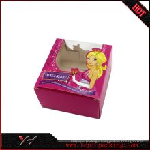 Luxury embossing pvc gift box for Tea packaging