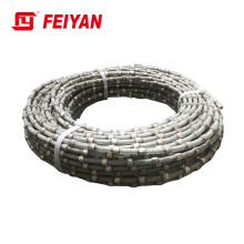 Diamond cutting wire for marble Diamond wire saw for marble profiling Wire saw rope