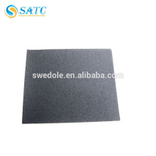 Folha de papel impermeável de carboneto de silício SATC