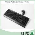 CE, certificado de RoHS Ultra barato delgado 2,4 GHz teclado inalámbrico y ratón