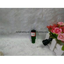10ml Green Essential Oil Bottle with Black Plastic Dropper (EOB-15)