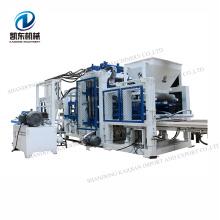 Siemens PLC full automatic hydraulic interlocking brick machine