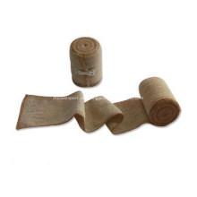 Medizinische hohe Kompressions-elastische Bandage-zusammenhängende Verbände