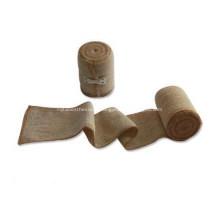 Bandages cohésifs médicaux de bandage élastique de compression élevée