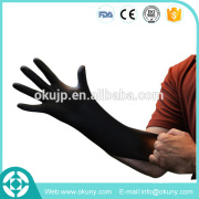 safety protective powder free disposable industrial nitrile glove