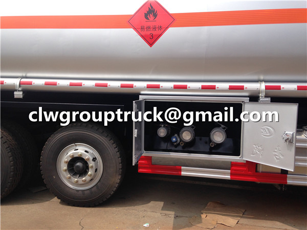 Flowline of Fuel Tanker