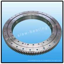 Rodamiento de doble hilera de bolas con engranaje externo para Máquina de Constracción