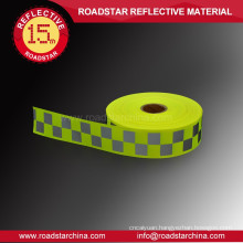 High visibility warning reflective band
