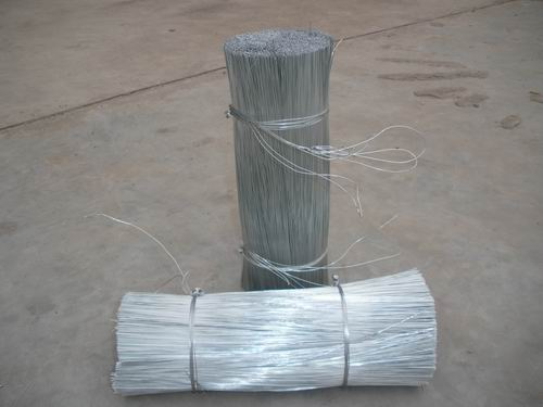 loop tie cut wire/galvanized straight cut wire