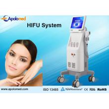 Pele que aperta Hifu para o sistema da remoção do enrugamento / pele que aperta Hifu