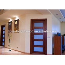 Glas-Platten-Badezimmer-Mattglas-Tür des Innenraum-5, Glasduschtür