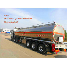 3 Alxe Aluminium Tanker Trailer With Suspension Air