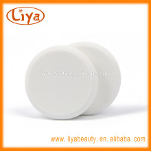 Nature soft cosmetics latex free make up puff white color