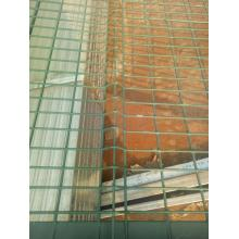 PVC Coated hijau pagar panel