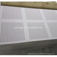 Preço de placa de gesso de teto perfurada do Quênia