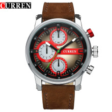 2017 Senior Quartz Leather Watch Men
