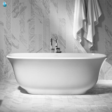 Wholesale china factory perfect vigor spa morden bathroom oval bathtub for small spaces