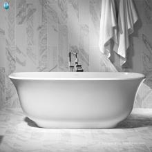 Venda por atacado fábrica de porcelana perfeito vigor spa morden banheira banheira oval para espaços pequenos
