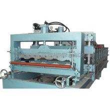 Azulejo de material para techos de chapa, máquinas formadoras