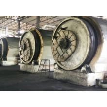pyrolyse de la noix de coco en usine de charbon