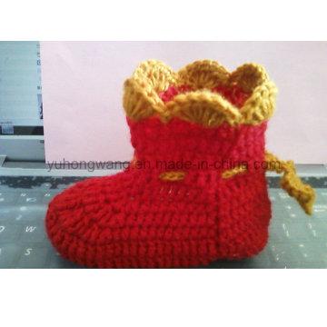 Warmes handgemachtes Häkeln Baby Socken, Strümpfe