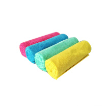 High quality quick-drying 40*40cm 300gsm microfiber car/hotel/hand cleaning towel