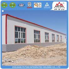 Entrepôt de structure en acier léger multi-plancher préfabriqué