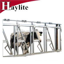 Livestock cattle panel equipment dairy cow headlock for sale