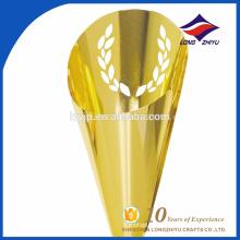 troféu de grão personalizado, troféu dourado