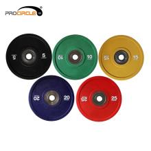 Professionelle Gym Stoßstange Barbell Platten