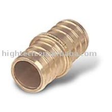 acoplamiento de latón, racor pex, racor de tubo de latón