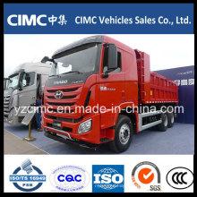 Caminhões basculantes do veículo com rodas de Hyundai 6 * 4 10