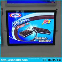 Nouveau produit adapté aux besoins du client la boîte à lumière magnétique de l'iPad LED de taille