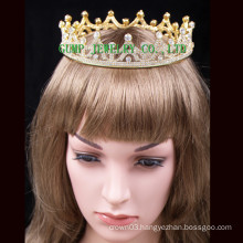 2016 Gold Plated Crystal Tiara Hot Sale Crown