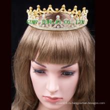 2016 Позолоченные Crystal Tiara Горячие Продажа Корона